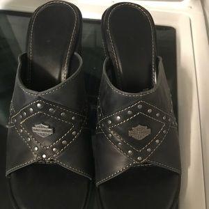 Shoes - Women's Harley Davidson Sandals. Size 9.
